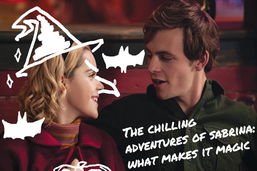 Netflix's Sabrina exceeds expectations.