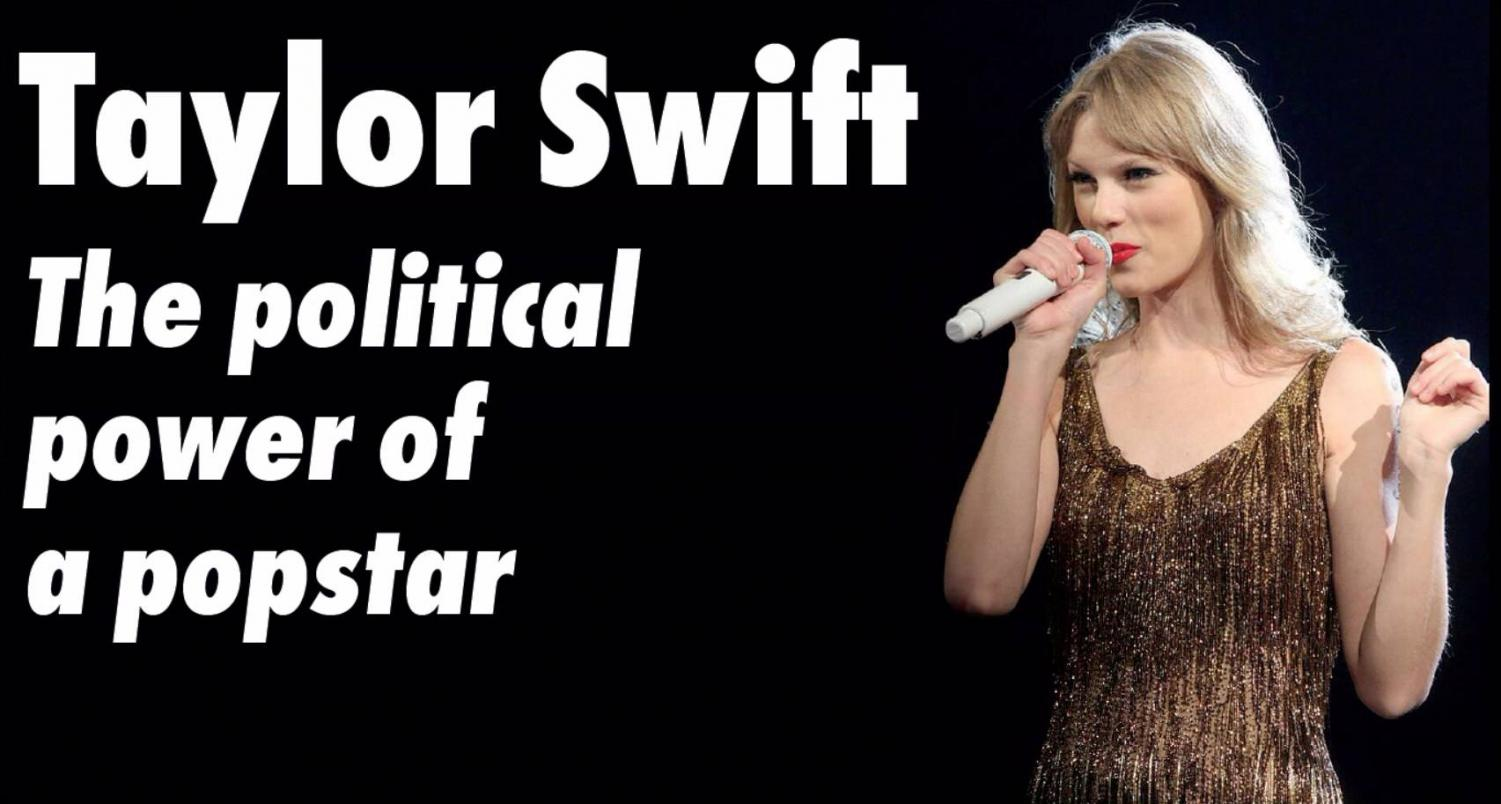 """Taylor Swift breaks her political silence streak with a post to her 112 million followers on Instagram. """"In the past I've been reluctant to publicly voice my political opinions, but due to several events in my life and in the world in the past two years, I feel very differently about that now,"""" Swift said in her post."""