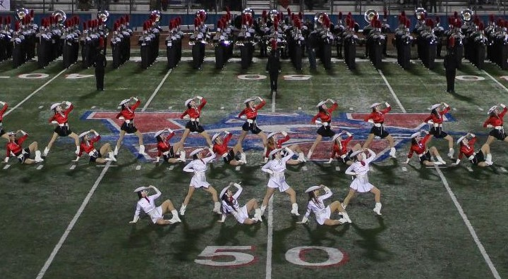 Silver Stars perform for the Macy's Day Parade
