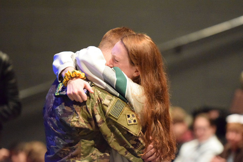 The Osterhues family reached out to Palatine High School to help make this reunion special.