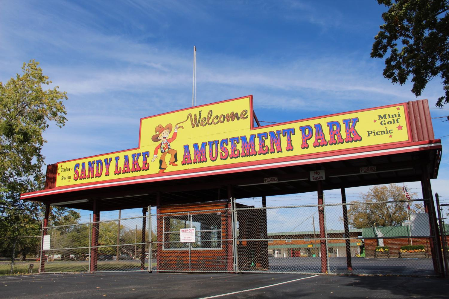 Sandy Lake Amusement Park, the park permanently shut down on Oct. 17, has been special place for families to visit for almost five decades. Most recently, the park was known to many in community for hosting company picnics and field trips.
