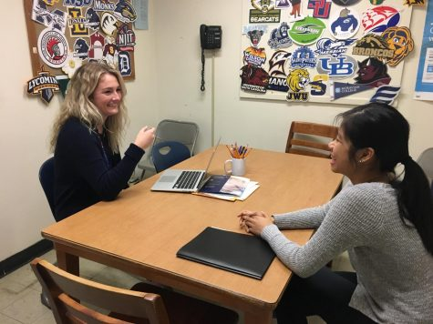 New guidance intern makes promising impression at East