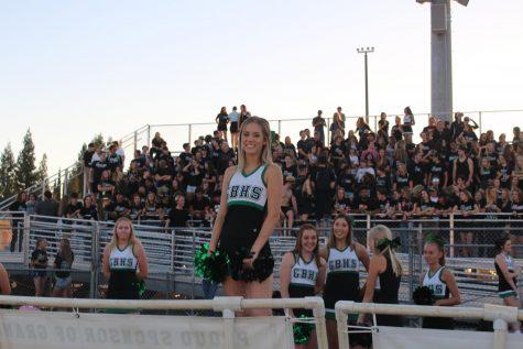 Cheerleaders wave goodbye to basketball season