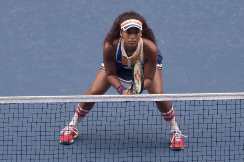 Image of Naomi Osaka, a Japanese tennis player.