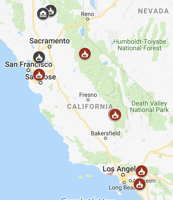 California+Statewide+Fire+Map+from+CA.gov.+