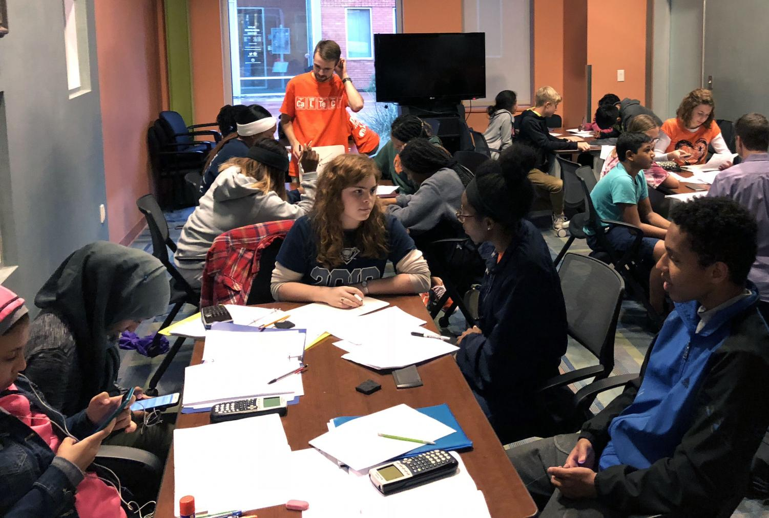 Free for all \ After seeing a need for math tutoring, senior Jaxson Hill started a free tutoring program. Housed at the Smith Public Library on Wednesday evenings, the tutoring is conducted by eighth grade through seniors and open for students in third grade to high school.