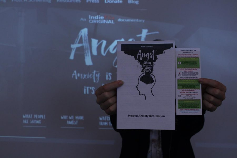 Angst Opens Discussion of Mental Health On Campus
