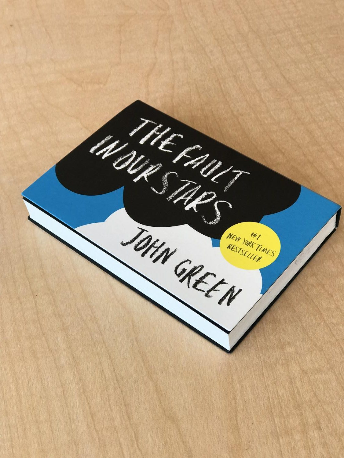 John Green's popular YA novel, The Fault in Our Stars, printed completely in mini format.