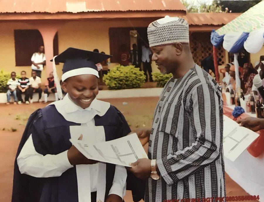 Nigerian exchange student brings educational awareness