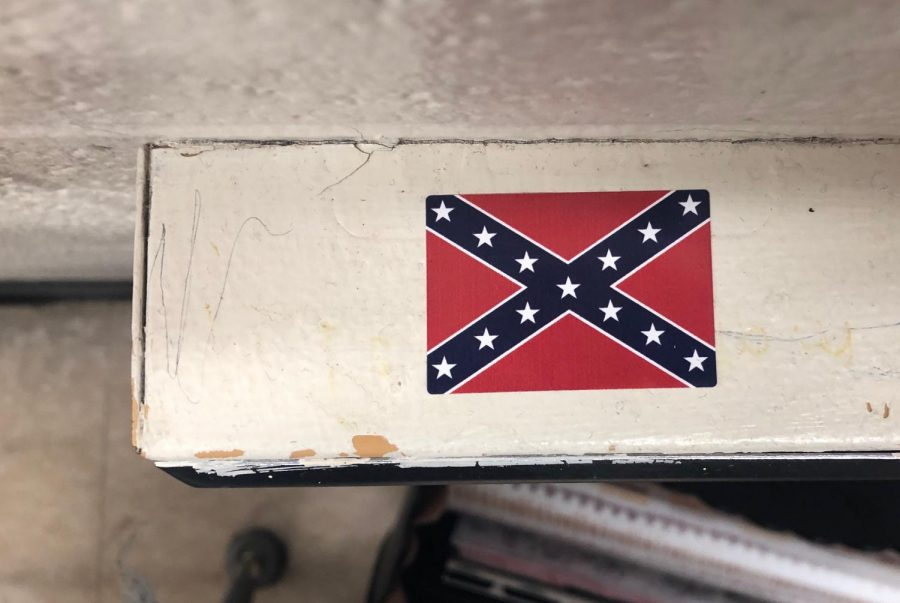 Confederate Flags Wrongfully Displayed Around School