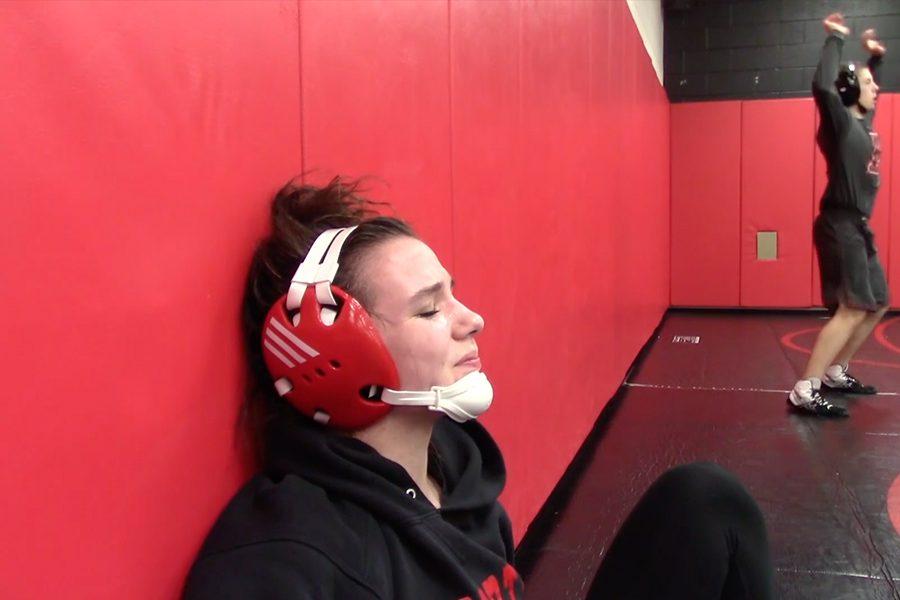 Wrestling through pain