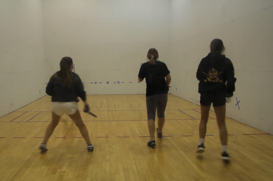 Teammates bond through Lafayette racquetball