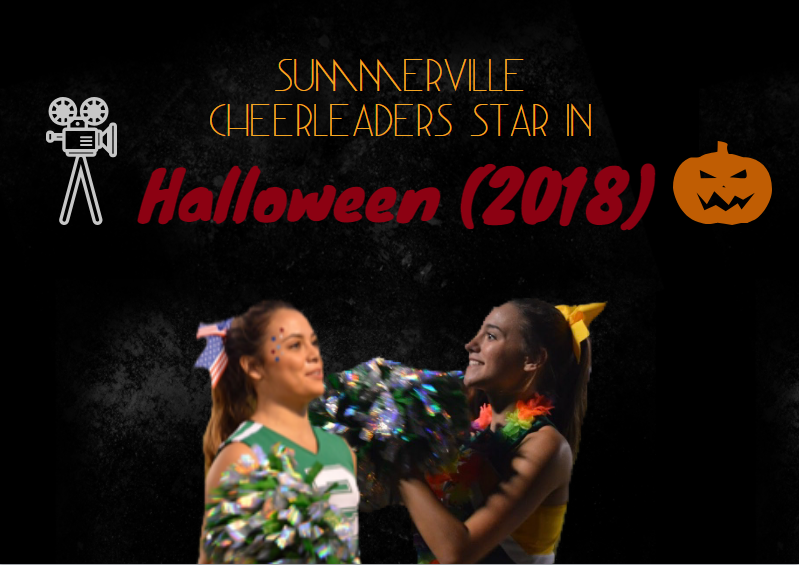 Summerville's varsity cheerleaders in Halloween (2018)