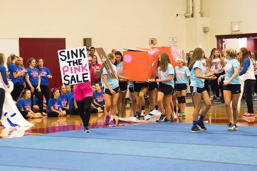 Pep rally skit decision made without considering compromise