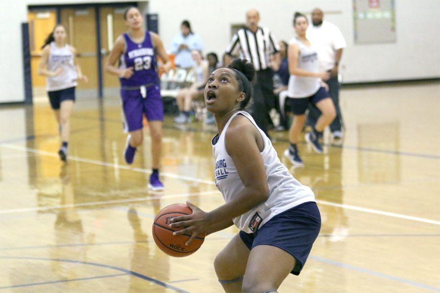 Buckner leads varsity girls basketball team as only senior