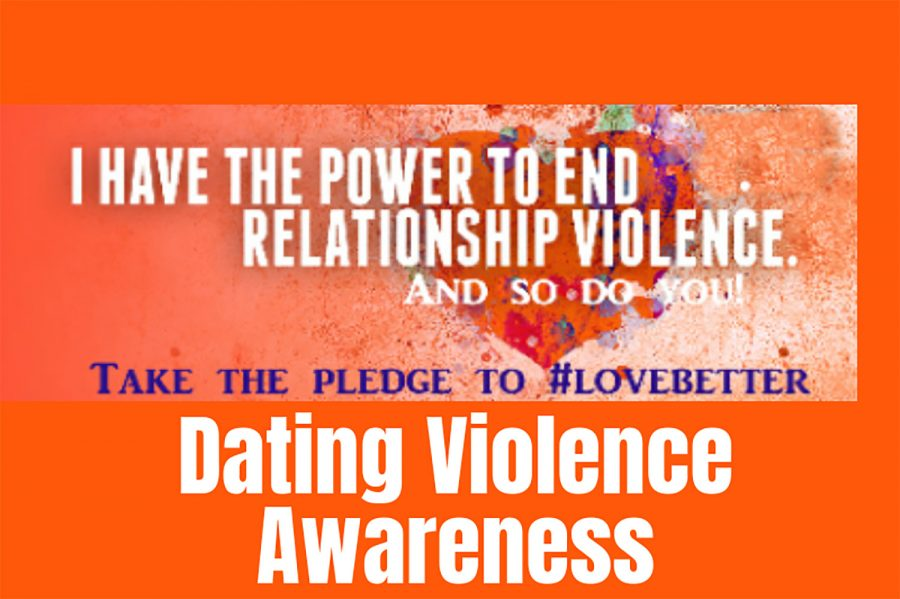 Take+the+pledge+to+end+relationship+violence+by+wearing+orange+on+Wednesday.+Seward+County+Community+College+is+bringing+awareness+about+healthy+ways+to+date.