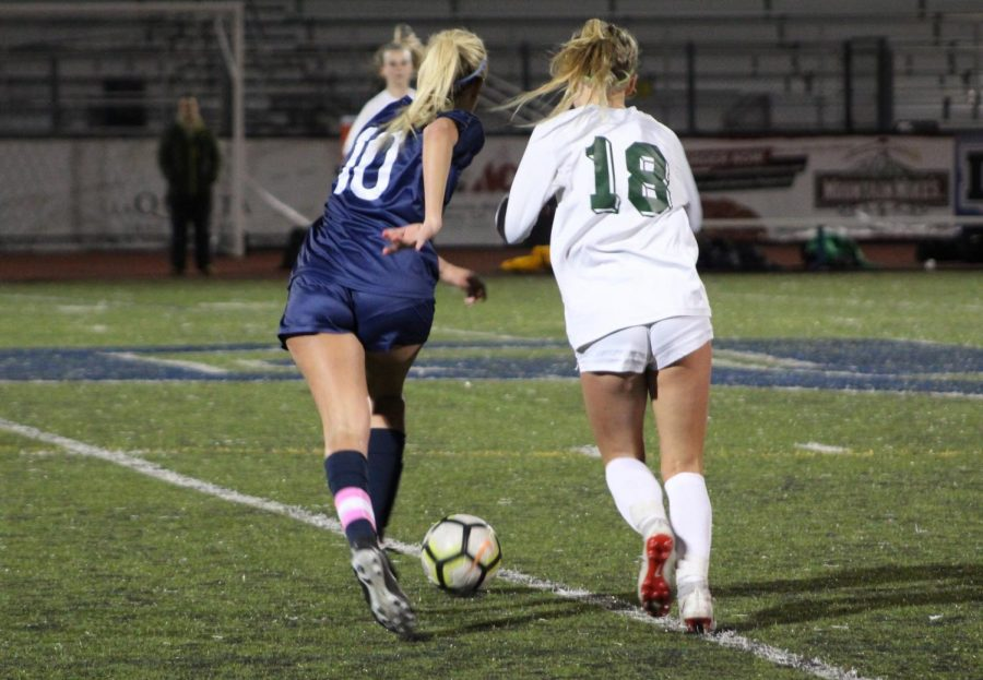 Women's Soccer scores breakthrough goal of season against San Ramon Valley