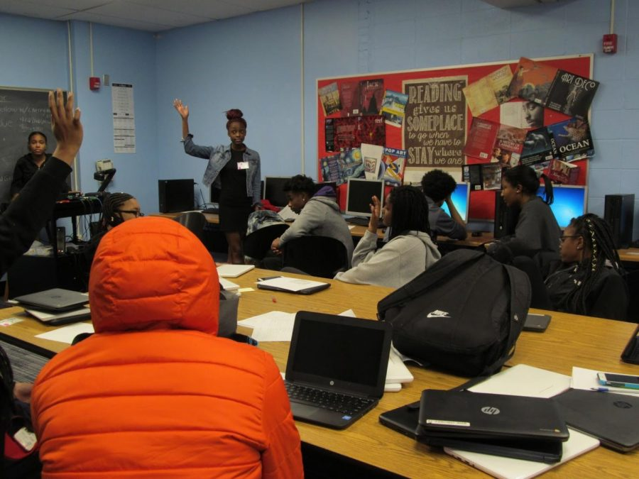 African-American students strive to embody qualities of leadership