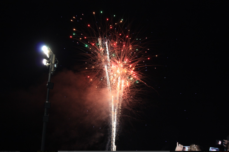 Homecoming fireworks replaced with new pyrotechnics
