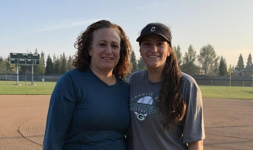 Like mother, like daughter on the field