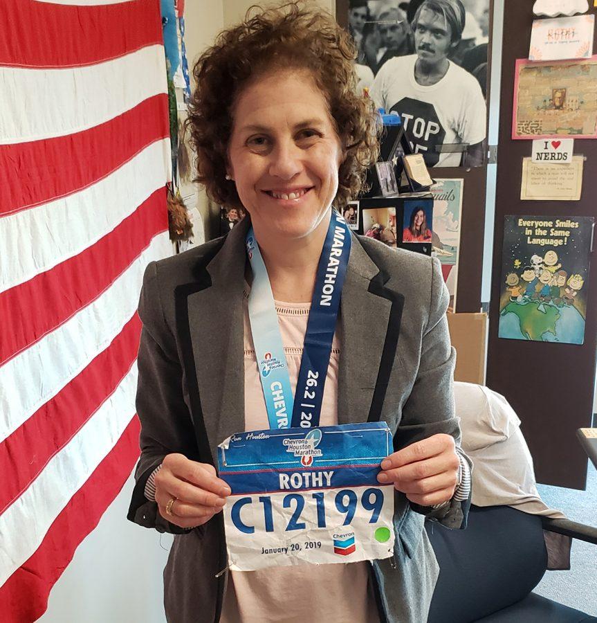 Teacher Outruns Sickness to Complete Houston Marathon
