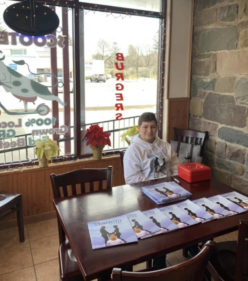 Young local author publishes a book about being 'Unwanted'