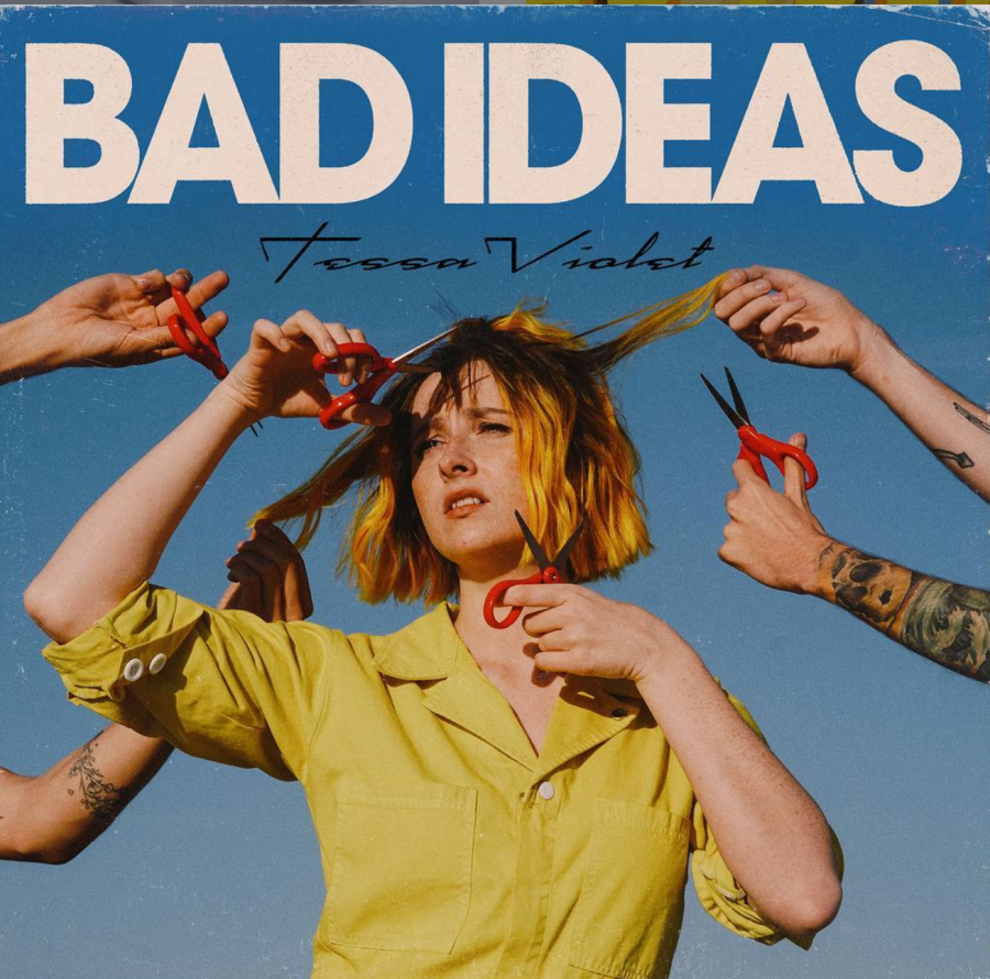 A+promotional+picture+of+the+Bad+Ideas+music+video+posted+by+Tessa+Violet.+