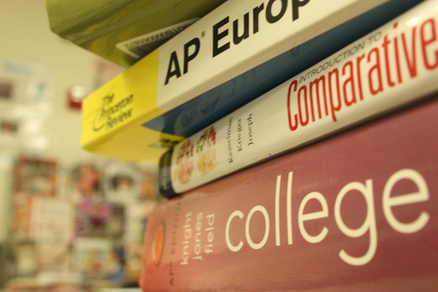 "The pressures of AP classes weigh down students. These past weeks students have picked their courses and decided what is right for them, but often they just try to stack up on AP. ""Last year when picking my courses for junior year, I was unsure about how many AP I should take and what would be best to take as AP and what would be better as regular,"" Megan Crawford, junior, said."