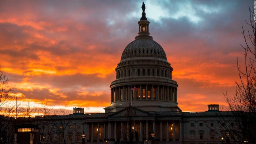 The+Capitol+at+sunset+after+the+Senate+rejected+competing+Democratic+and+Republican+proposals+for+ending+the+partial+government+shutdown%2C+which+is+the+longest+in+the+nation%27s+history%2C+in+Washington%2C+Thursday%2C+Jan.+24%2C+2019.+%28AP+Photo%2FJ.+Scott+Applewhite%29