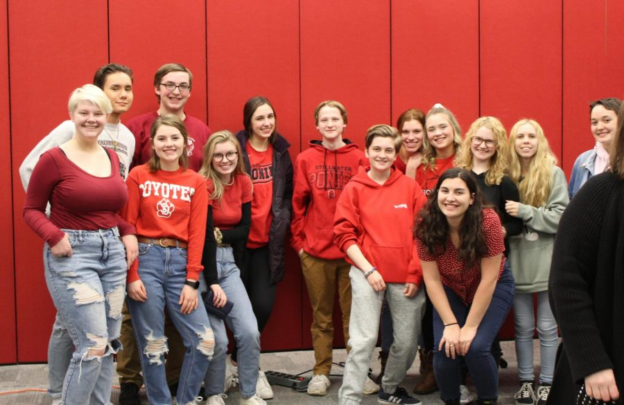 Board meeting red-out: students stand in support of Student Council President representation