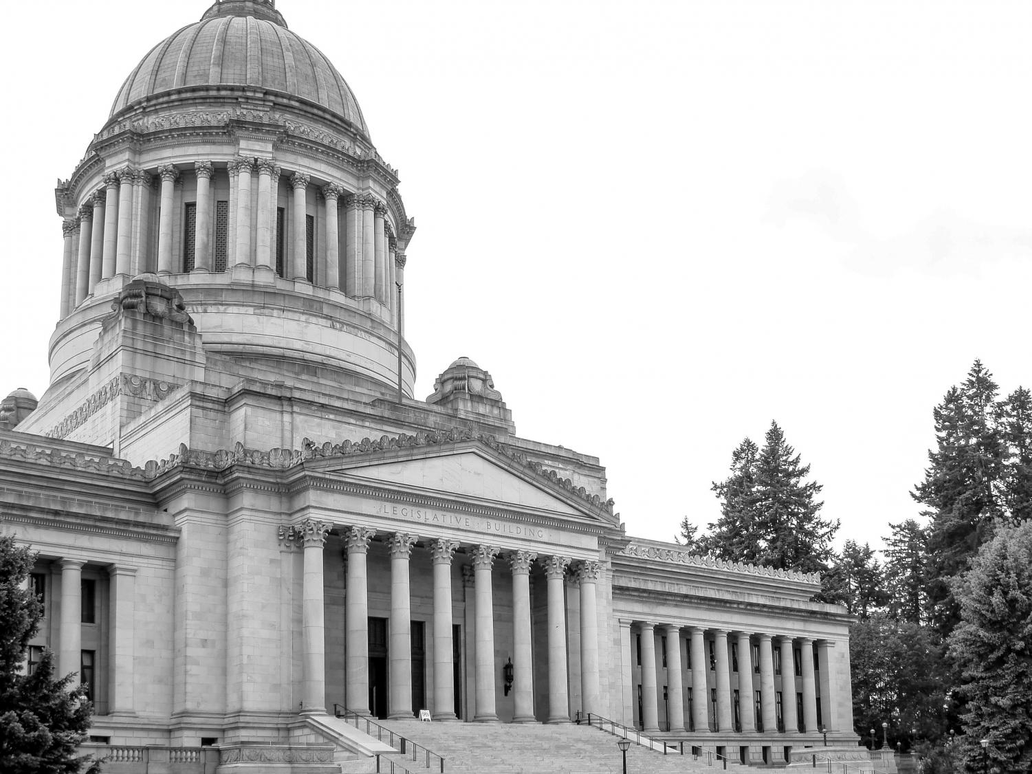 The Washington Capitol Building in Olympia. Previous trips from EWU allowed students to lobby for personal and university interests.