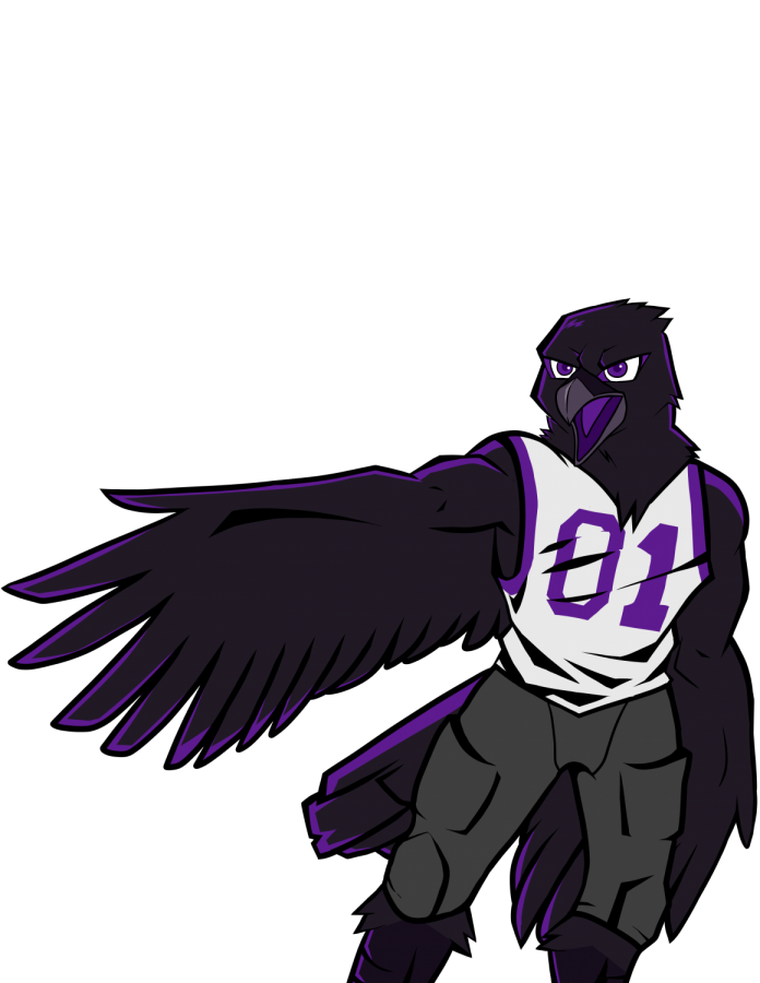 Since+the+2001+decision+to+change+the+mascot+to+Raven%2C+Native+American+imagery+has+been+absent+from+campus.+The+work+of+the+Ready+4+Ravens+club+has+made+the+full+change+to+Raven+a+real+possibility+for+the+school.