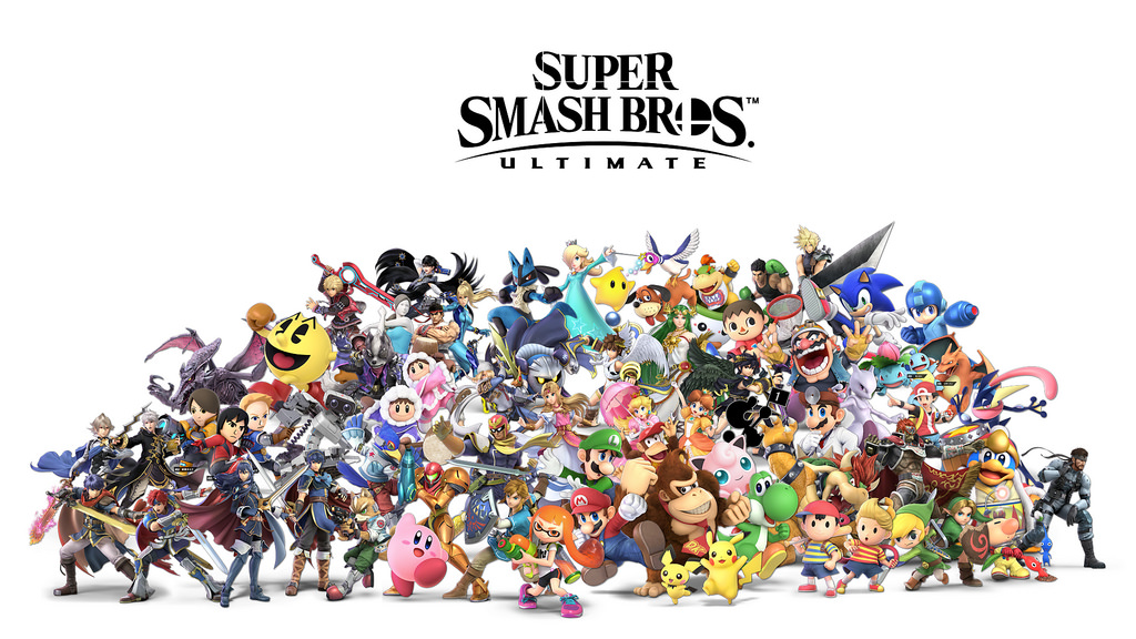 Available on Nintendo Switch as well other gaming systems, Smash Bros Ultimate a hot game played by all.