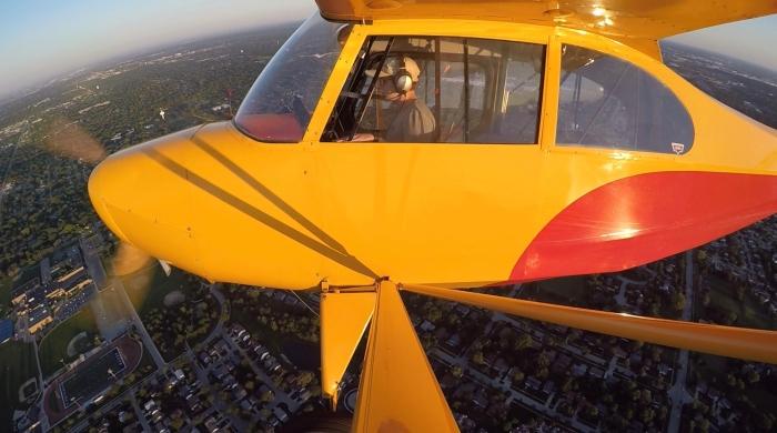 Piloting his future: Joey Ermel — student pilot