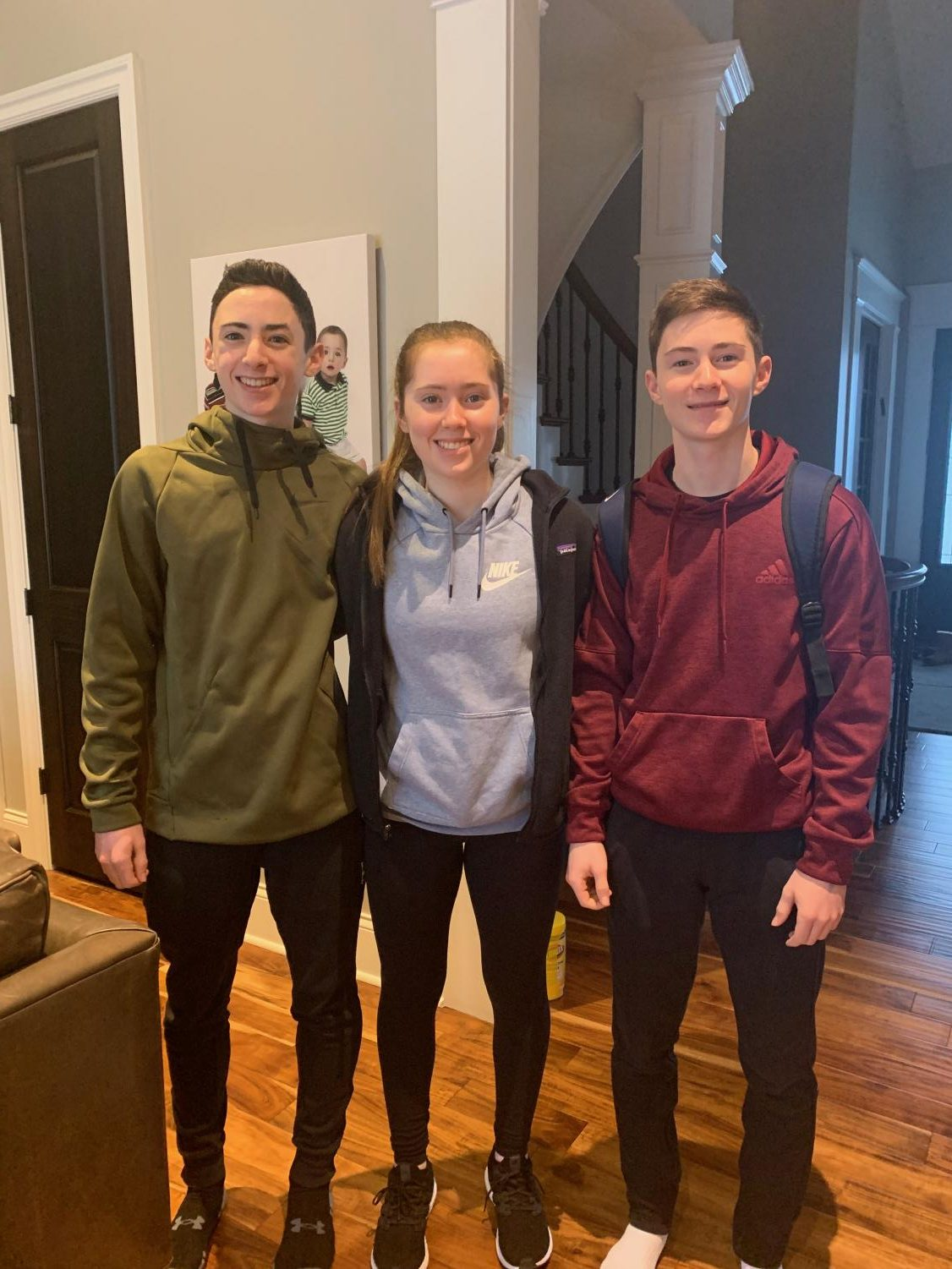Freshmen triplets are turning heads in varsity sports