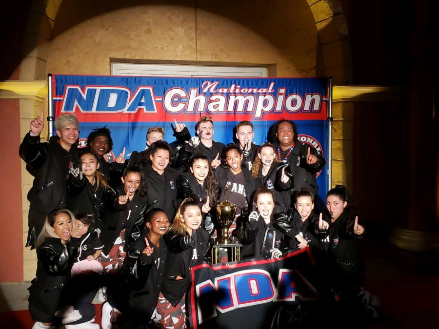 DHSDT+celebrates+their+first+national+championship+after+years+of+coming+so+close.