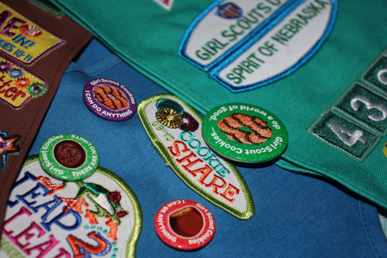 Some Girl Scouts like to be a part of troops that do many activities in order to fill their sashes or vests with badges. Badges were gained after the girls learned something new or after they had finished a new activity that benefits a large group of people.