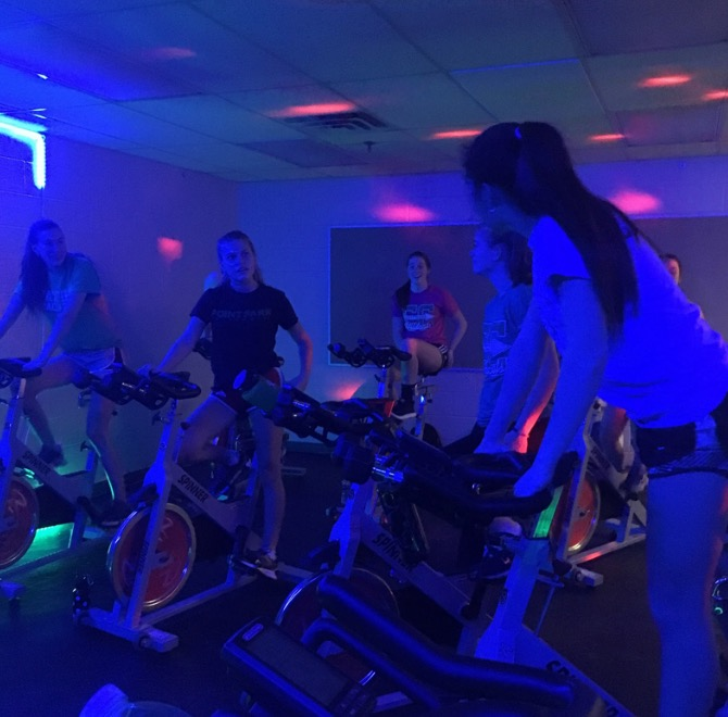 Soul Cycle instructor creates fun environment