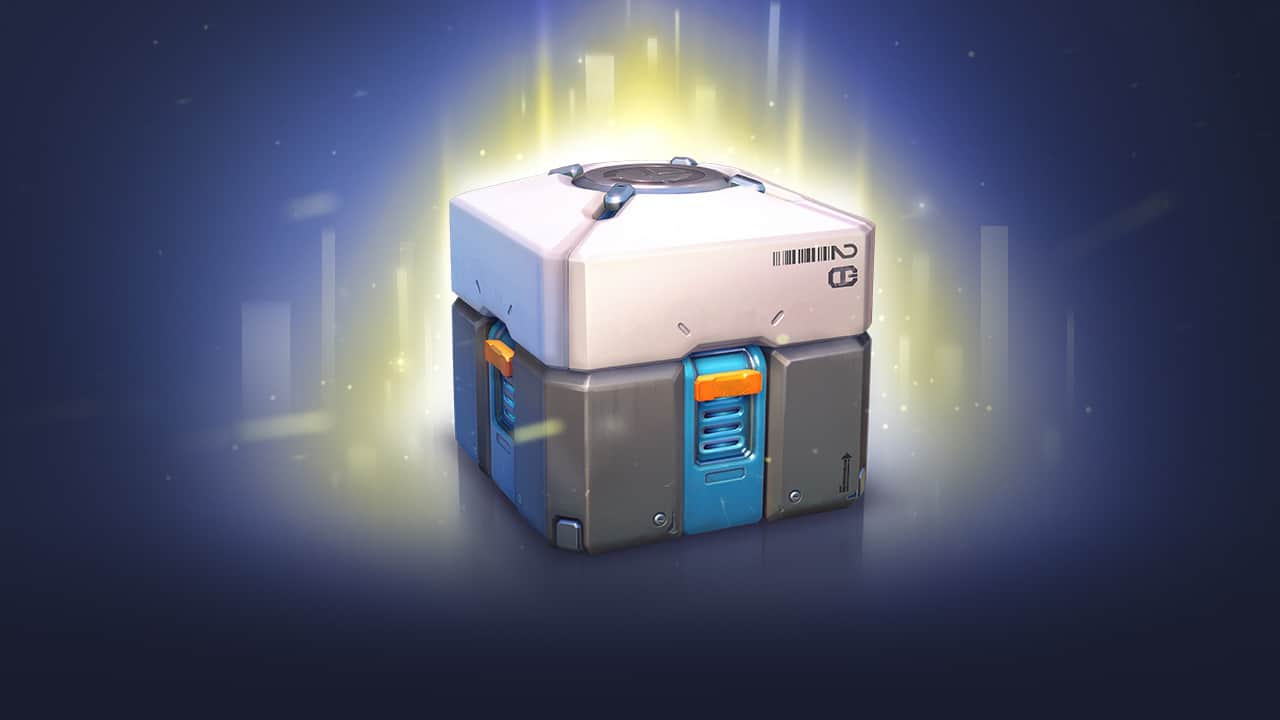 """Screenshot of a loot box from the critically acclaimed """"Overwatch"""" by Blizzard Entertainment. Loot boxes in """"Overwatch"""" thankfully only contain cosmetic items."""