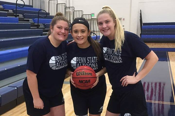 Triple Threat: Tyrone Grads Lead Penn State Altoona Lady Lions