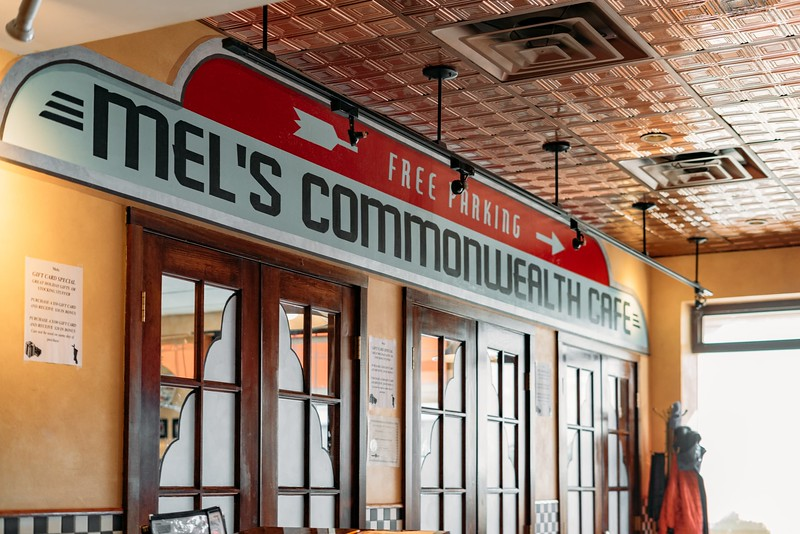 Mel's Commonwealth Cafe: a neighborhood meeting place