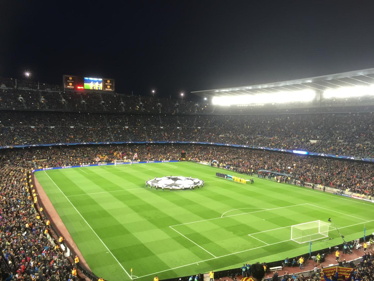The UEFA Champions League is played September through June and involves Europe's top teams.