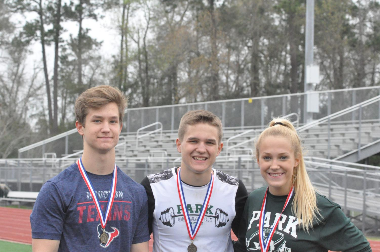 John, Grant and Victoria Golden compete in track and have already won a few medals. The three are extremely competitive in everything from sports to academics. They all have high hopes for track season.