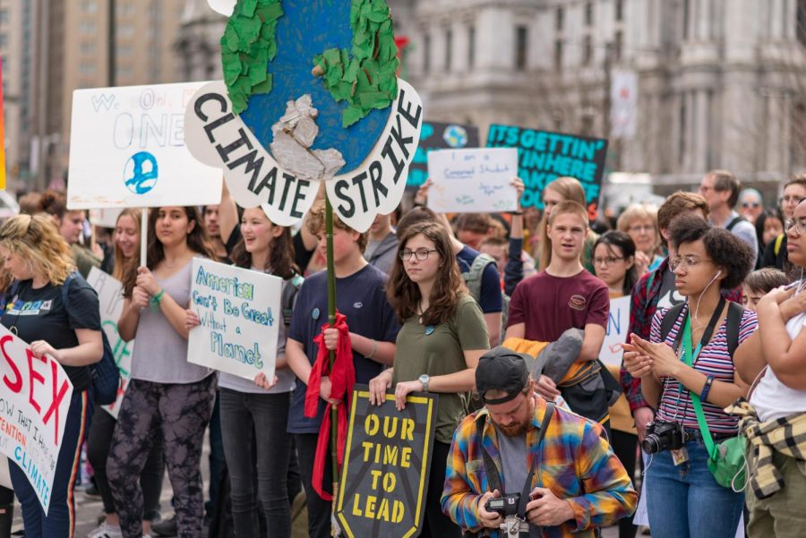 Students Across the City (And Globe) Strike to Protest Climate Change