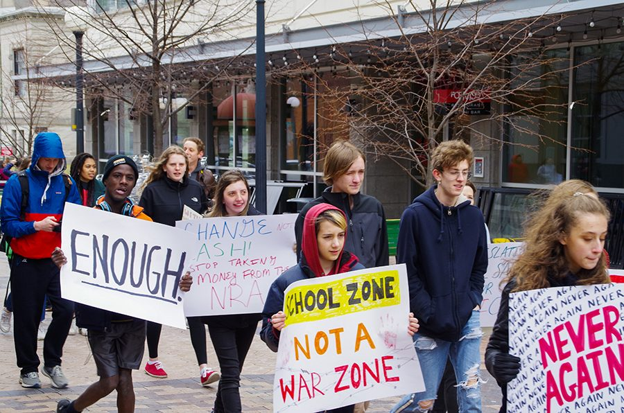 Second annual March for our Lives held in downtown Iowa City