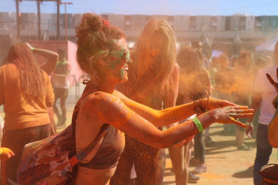 California College of the Arts hosts 2019 Holi Festival