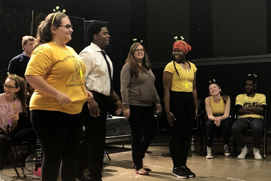 Improv night provides fun challenge for student actors