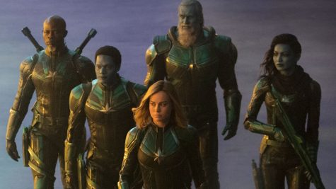 Brie Larson portrays the true hero of the movie, Carol Danvers. She starts the story as part of the Kree Starforce but later takes the opposing side of the skrulls.