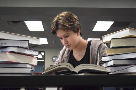 After two years of high school, sophomore Nadia Messmer is testing out