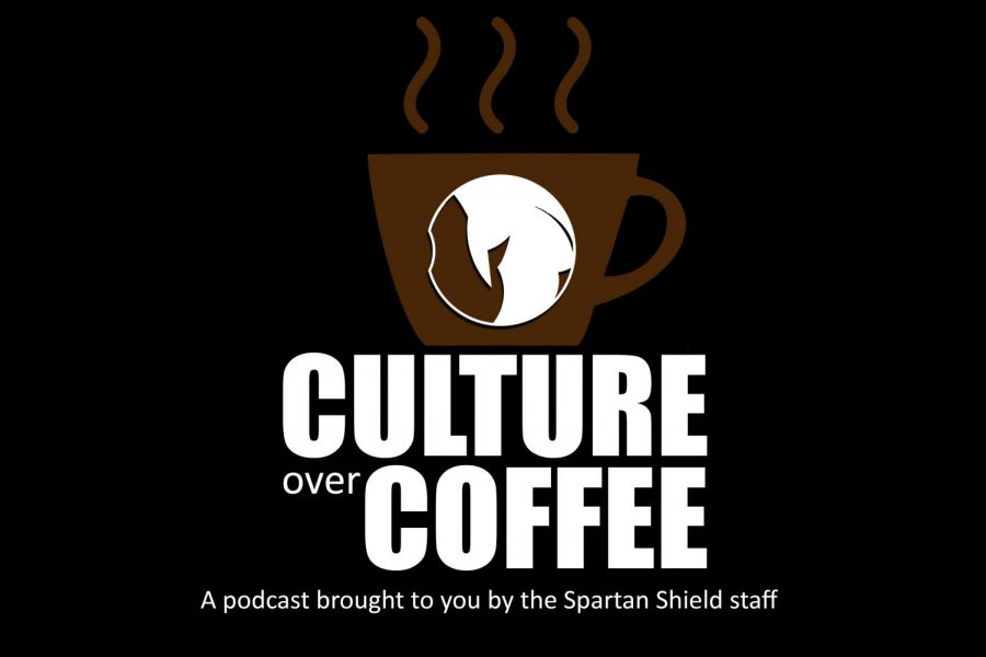 Culture+over+Coffee%3A+a+podcast+where+we+discuss+any+and+everything+related+to+pop+culture.+Brought+to+you+by+the+Spartan+Shield+staff.